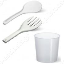 Επιτραπέζιος βραστήρας & συντηρητής ρυζιού 12Lt 150529 BARTSCHER | Mεζούρα, κουτάλι για ρύζι , κουτάλι ανάδευσης