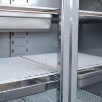 Επαγγελματικό ψυγείο θάλαμος κατάψυξης με 3 πόρτες UΚ 205 BAMBAS | Επαγγελματικό ψυγείο θάλαμος, σχάρες με οδηγό για GN