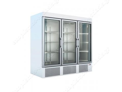 Επαγγελματικό ψυγείο θάλαμος συντήρησης με 3 πόρτες UP 205 ΒΑΜΒΑS