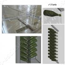 Ψυγείο βιτρίνα κρασιών MARILYN 650 WINE TECFRIGO | Τρόπος τοποθέτησης μπουκαλιών