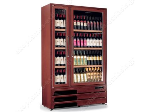 Ψυγείο βιτρίνα κρασιών 5 θερμοκρασιών ENOPRESTIGE 600 5TV TECFRIGO