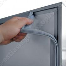 Επαγγελματικό ψυγείο θάλαμος κατάψυξης με 3 πόρτες UΚ 205 BAMBAS | Με αποσπώμενα λάστιχα