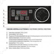Φριτέζα ηλεκτρονική 13Lt FRD43FE7 TECNOINOX